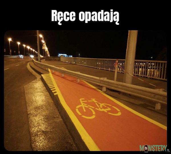 Kolejna ścieżka rowerowa