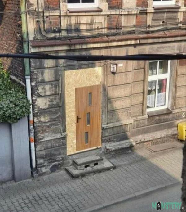 Takie ładne drzwi