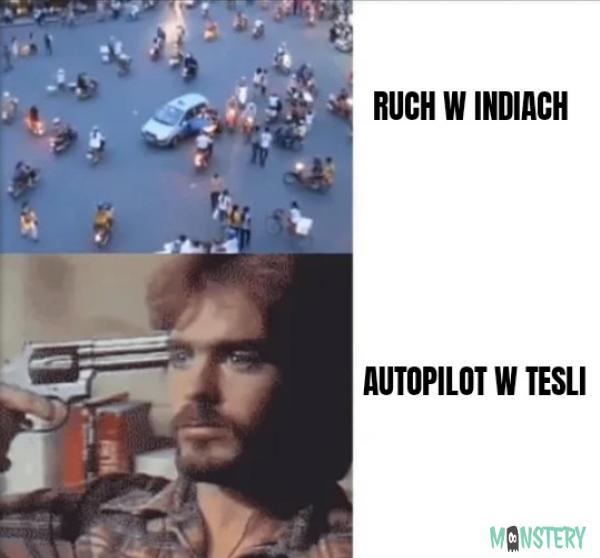 Tesla i autopilot