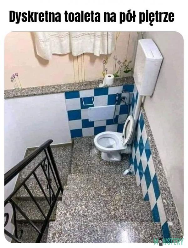 Dyskretna toaleta