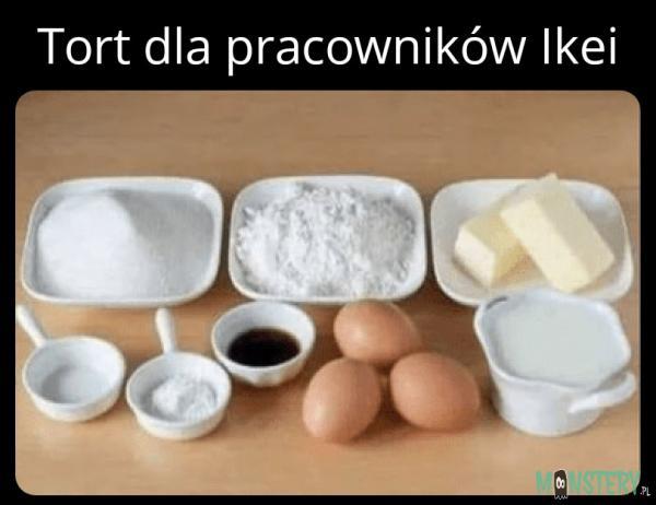 Tort w Ikei