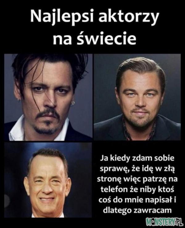 Najlepsi aktorzy na świecie