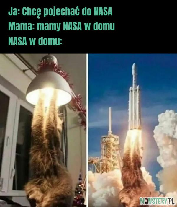 NASA w domu