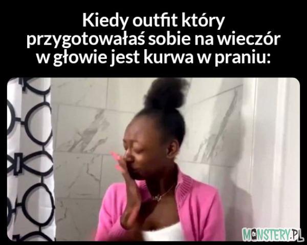 Outfit w praniu