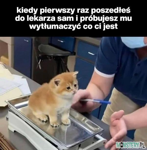 Pierwsza wizyta u lekarza
