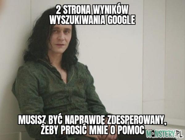 Pomoc od wujka Google