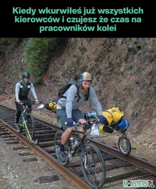 Pozdrawiam pracowników kolei