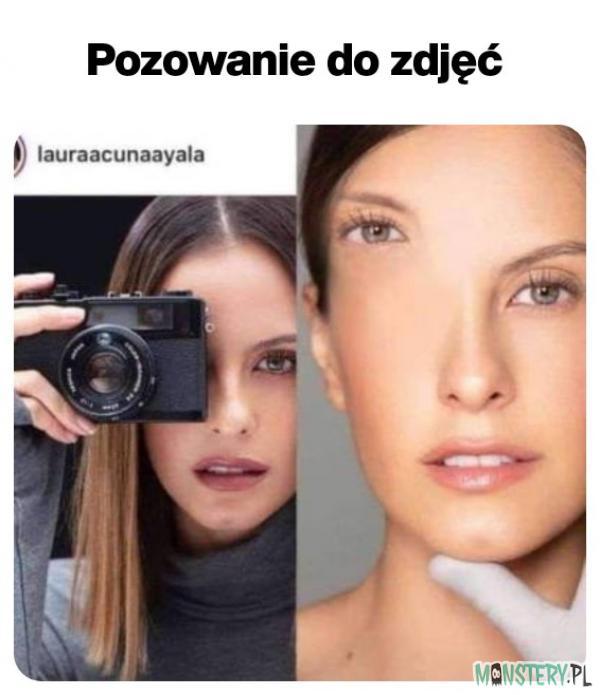 Pozowanie do zdjęć