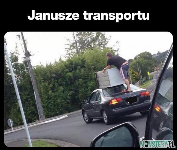 Przecież nie będę płacić za transport