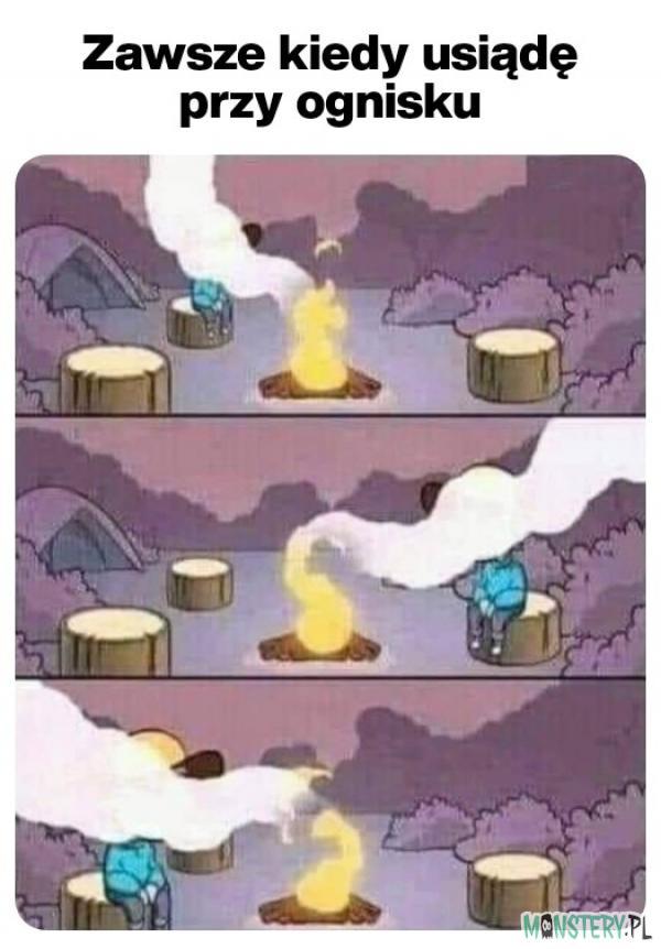Przy ognisku