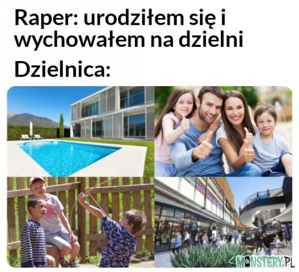 Raper z dzielnicy
