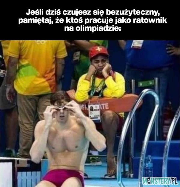 Ratownicy na olimpiadzie