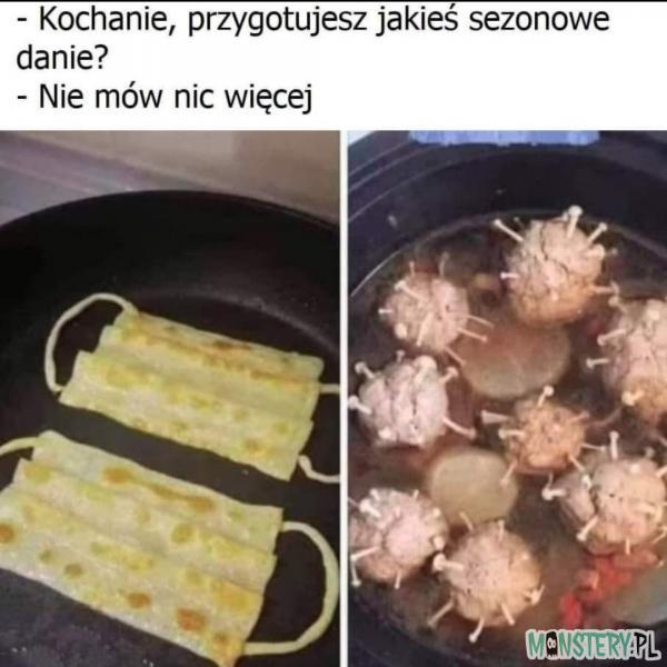 Sezonowe danie