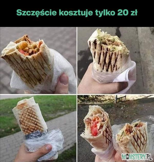 Szczęście kosztuje tylko 20 zł
