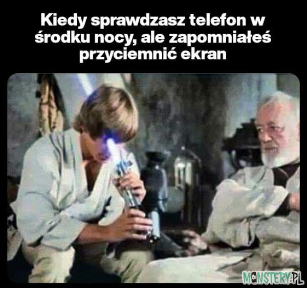 Telefon w nocy