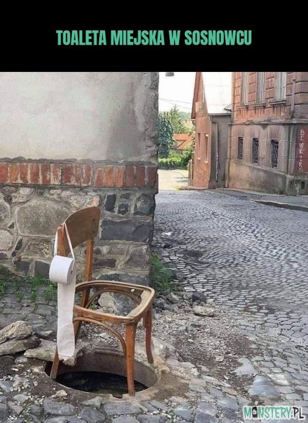 Toaleta miejska w Sosnowcu