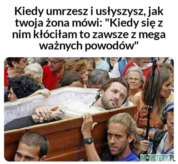 Własny pogrzeb