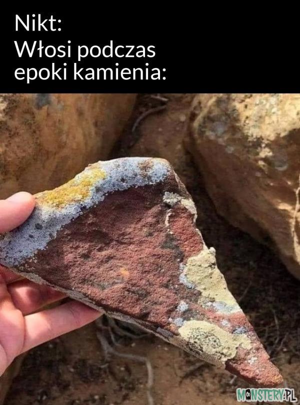 Włosi podczas epoki kamienia