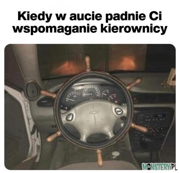 Wspomaganie kierownicy